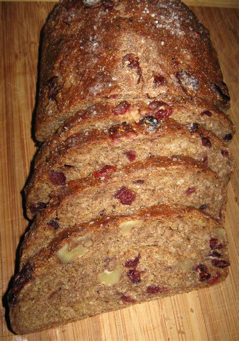 whole grain rye bread walnut and cranberry whole grain rye bread sept 2011 pam