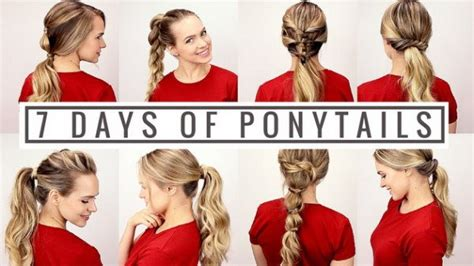 easy hairstyles for everyday of the week 7 surprisingly easy hairstyles for each day of the week