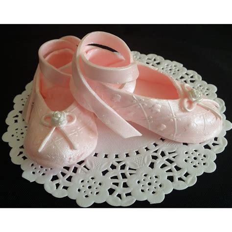 ballerina baby shoes ballerina shoes cake topper ballerina baby shower ballet