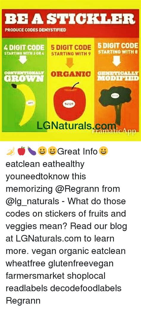 fruit 4 digit code bea stickler produce codes demystified 4 digit code 5