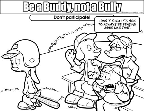 Bullying Coloring Pages Free Printable Coloring Worksheets Bullying Coloring Pages