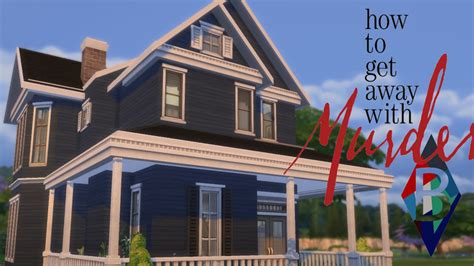 The Sims 4 House Building Annalise Keating S House How To Get Away With Murder