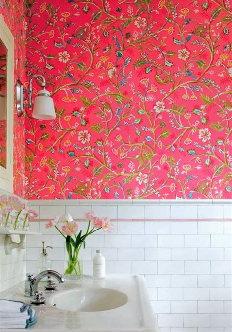 wallpaper  bathrooms babymac