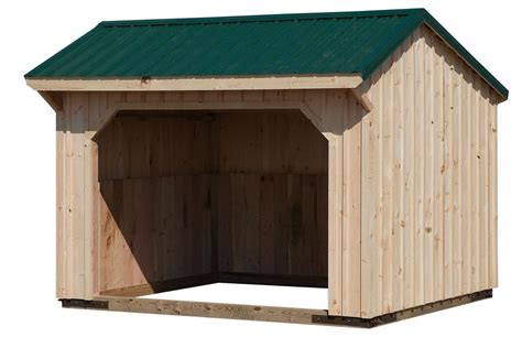 Metal Run In Shed by Run In Sheds Amish Crafted Run In Sheds Custom Run In