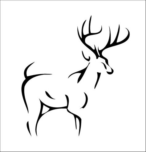 tribal stag tattoo 37 tribal deer tattoos ideas and designs