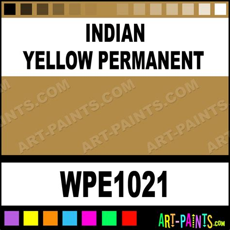 indian yellow permanent permalba paints wpe1021 indian yellow permanent paint indian