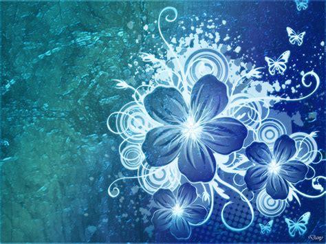 wallpaper flower design images blue flower wallpaper early flower