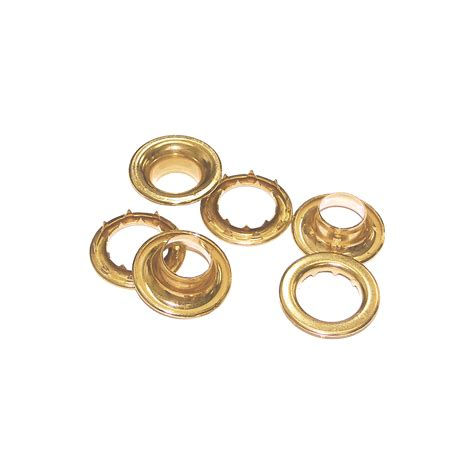 drapery cords size 0 9 32 quot brass plated grommets with spur washers