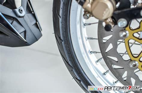 Arem Supra X 125 Cakram Belakang modifikasi new honda sonic 150r velg jari cakram lebar