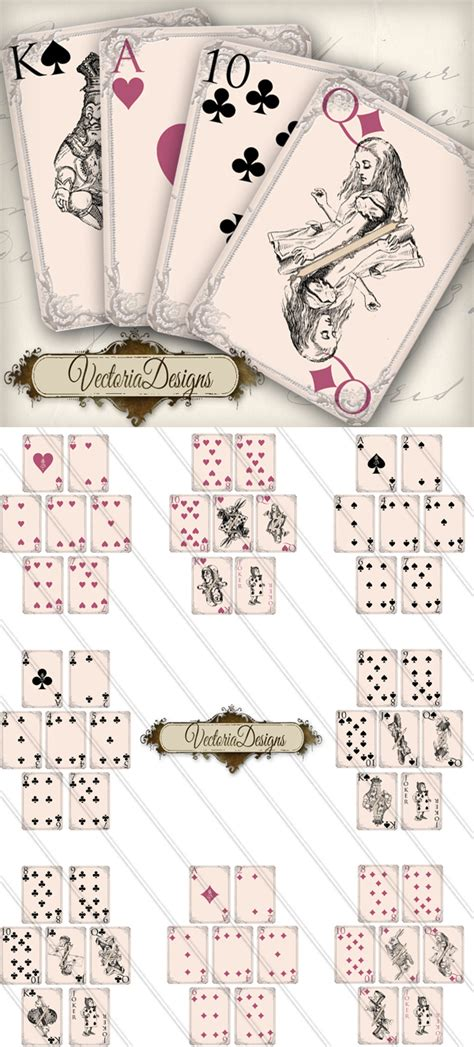 printable playing cards sheets custom card template 187 printable playing cards template