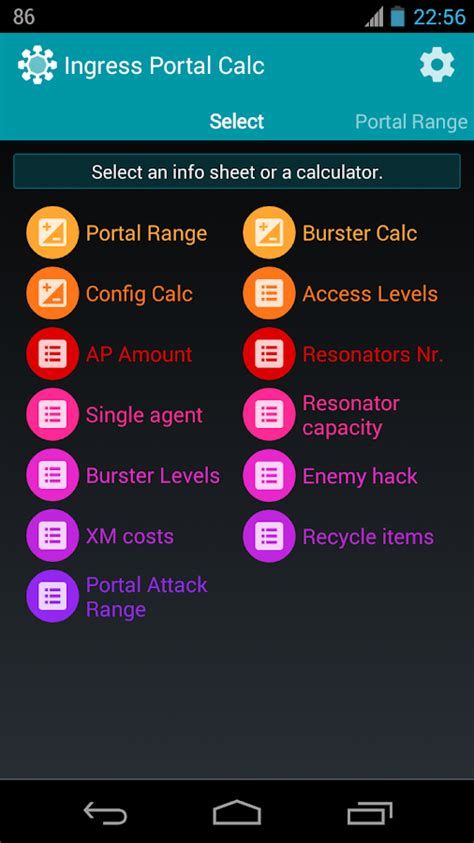 ingress hacked apk portal calc for ingress android apps on play