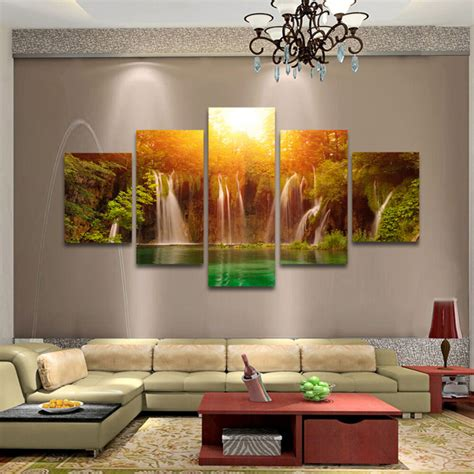 pcs large modern hand painted art oil painting wall