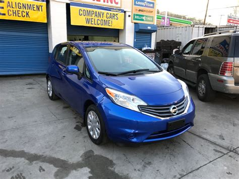 used nissan versa note used 2014 nissan versa note s plus hatchback 7 990 00