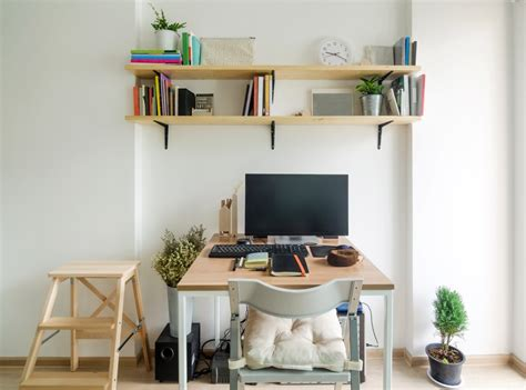 Home Office Desk For Apartment 9 Ways To Incorporate A Home Office Into A Small Apartment