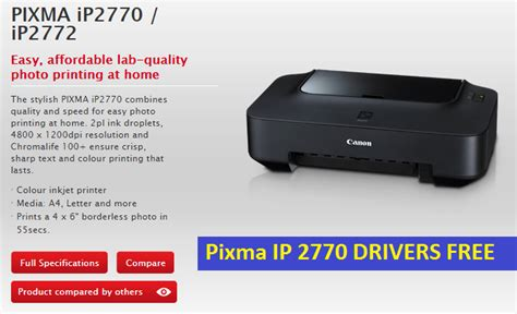 Cek Printer Canon Ip 2770 driver canon ip 2770 for windows and mac step by step guide