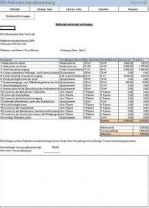 haus nebenkostenrechner excel vorlage tool f 252 r nebenkostenabrechnung einer immobilie