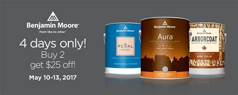 benjamin moore paint sale 2017 promotion ended benjamin moore buy 2 get 25 off sale