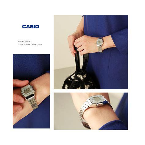 Casio La680wa 2b Original aranciato rakuten global market casio casio metal