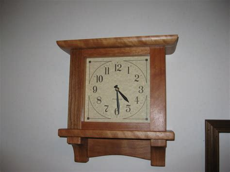 wall clock plans woodworking mission wall clock by arthurs lumberjocks
