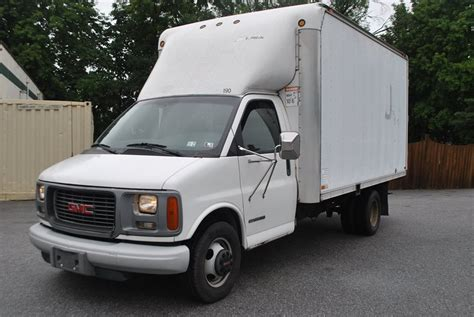 2001 gmc savana partsopen 2001 used gmc savana 3500 cargo 14 diesel box truck 14 foot at hg motorcar corporation serving