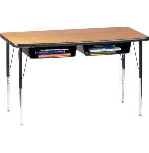 Open Front Double School Desk Laminate Top Acd 1600 Open Front Student Desk