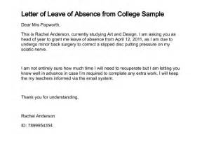 leave of absence letter crna cover letter