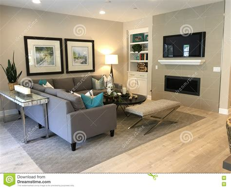 Beautiful Living Room With Tv Beautiful Living Room Stock Photo Image 70640026