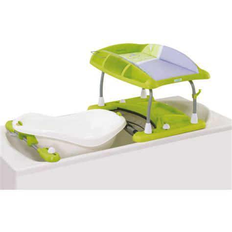 table a langer pour baignoire baignoire bebe poser sur baignoire adulte