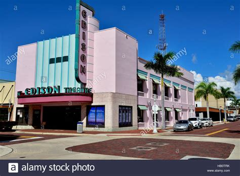 fort myers florida downtown stock photos fort myers