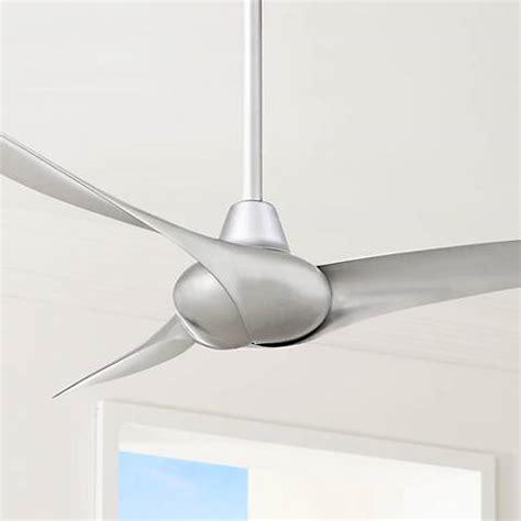 minka wave ceiling fan 52 quot minka aire wave silver ceiling fan 2n503 ls plus