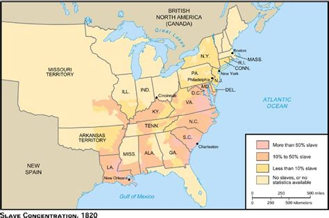 map of united states 1820 us history maps