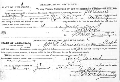 Sedgwick County Marriage License Records Sedgwick Research S Site For The Hodnett Family