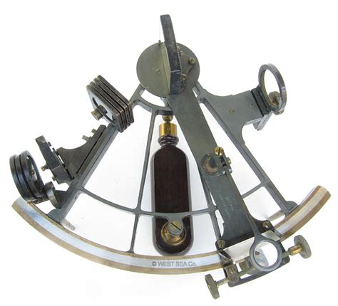 sextant inventor west sea co nautical instruments catalog page 3