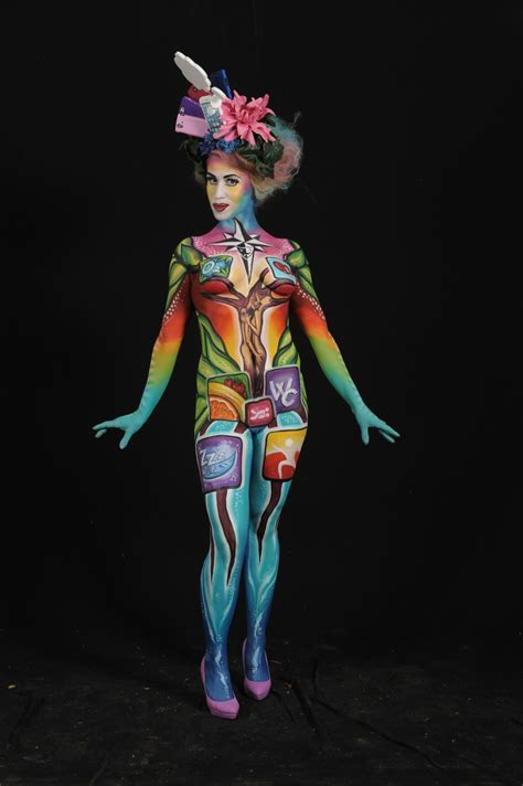 the painting festival these photos of the 2014 world bodypainting festival will
