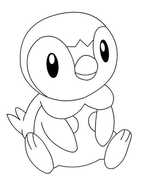 pokemon coloring pages of piplup media tweets by pokemon kleurplaten pokemonkleuren