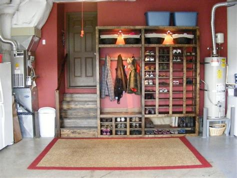 garage coat and shoe storage garage shoe storage hanging area would be great to keep