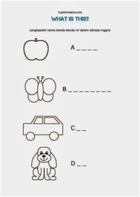 Dino Ding Belajar Bahasa Inggris 2 lembar belajar bahasa inggris untuk sd membaca dan mencocokkan nama anggota bagian tubuh