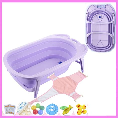 foldable bathtub baby 81 47 22 5cm foldable baby infant newborn bath tub safety