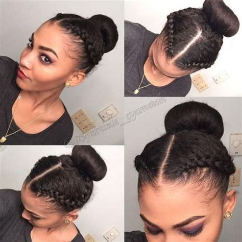 simple hairstyles for relaxed hair simple hairstyle for protective hairstyles for relaxed