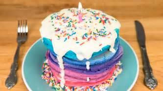 pfannkuchen kuchen birthday cake pancakes with cheese glaze from