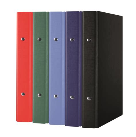Binder 20ring Ring Binder Pp A5 2r 20mm Assorted Colours Axpen