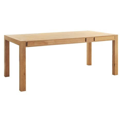 hana 6 seat oak dining table with storage buy now at