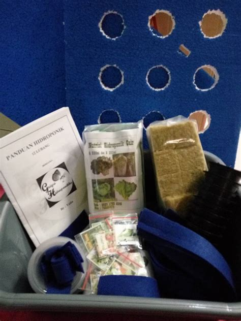 Buku Kangkung Hidroponik Ori R5 hidroponik paket pemula hidroponik sistem wick