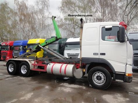 volvo meiller fh   air switches leaf  roll  tipper truck photo  specs