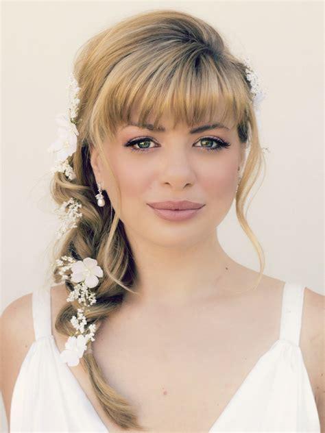 Wedding Hairstyles For Medium Length Hair 2017 by Wedding Hairstyles For Medium Length Hair With Bangs