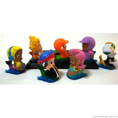 guppy figurines 28 images nickelodeon guppies deluxe