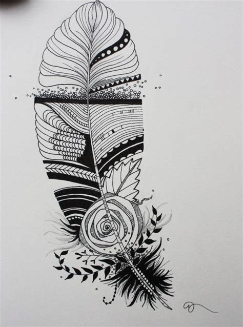 drawing design ideas original india ink drawing or tattoo design whimsical