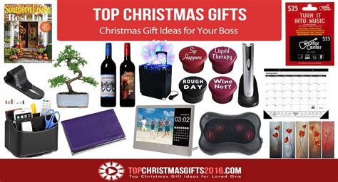 christmas gifts for boss 2017 best template idea