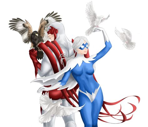hawk and dove hawk and dove coloured by ayhe on deviantart