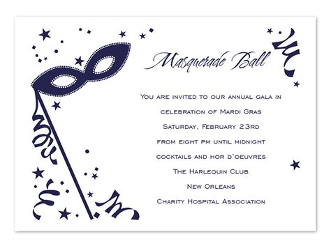 masquerade mask invitations template free quotes